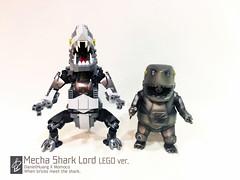 Mecha Shark Lord03 (danielhuang0616) Tags: momoco shark mecha lord lego 2018 moc gun metal