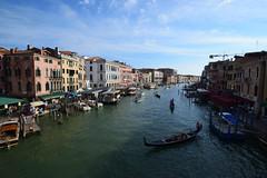The Grand Canal (STLarson) Tags: gondola venice grandcanal italy gondolier venicegrandcanal