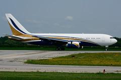 N767KS (Mid East Jet) (Steelhead 2010) Tags: mideastjet elanexpress boeing b767 b767200er bizjet yhm nreg n767ks