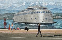 KalaKala (leuntje) Tags: portangeles olympicpeninsula washington usa mural kalakala boeing ferry