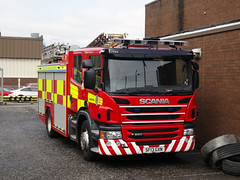 SF13 GXN Scottish Fire and Rescue Service (C812JGB) Tags: sf13gxn sf13 gxn scania p280 jdc polybilt castlemilk scottish fire rescue service uk 999 emergency pump pumper appliance truck lorry glasgow