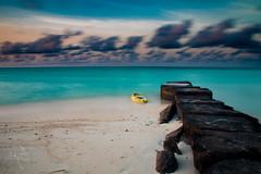Gaafaru East Shore Protection (dilshanabdulla) Tags: salt sea canon shore protection beautiful beach maldives gaafaru