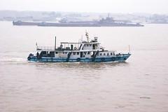 River patrol boat (hugh llewelyn) Tags: yangtzeriver