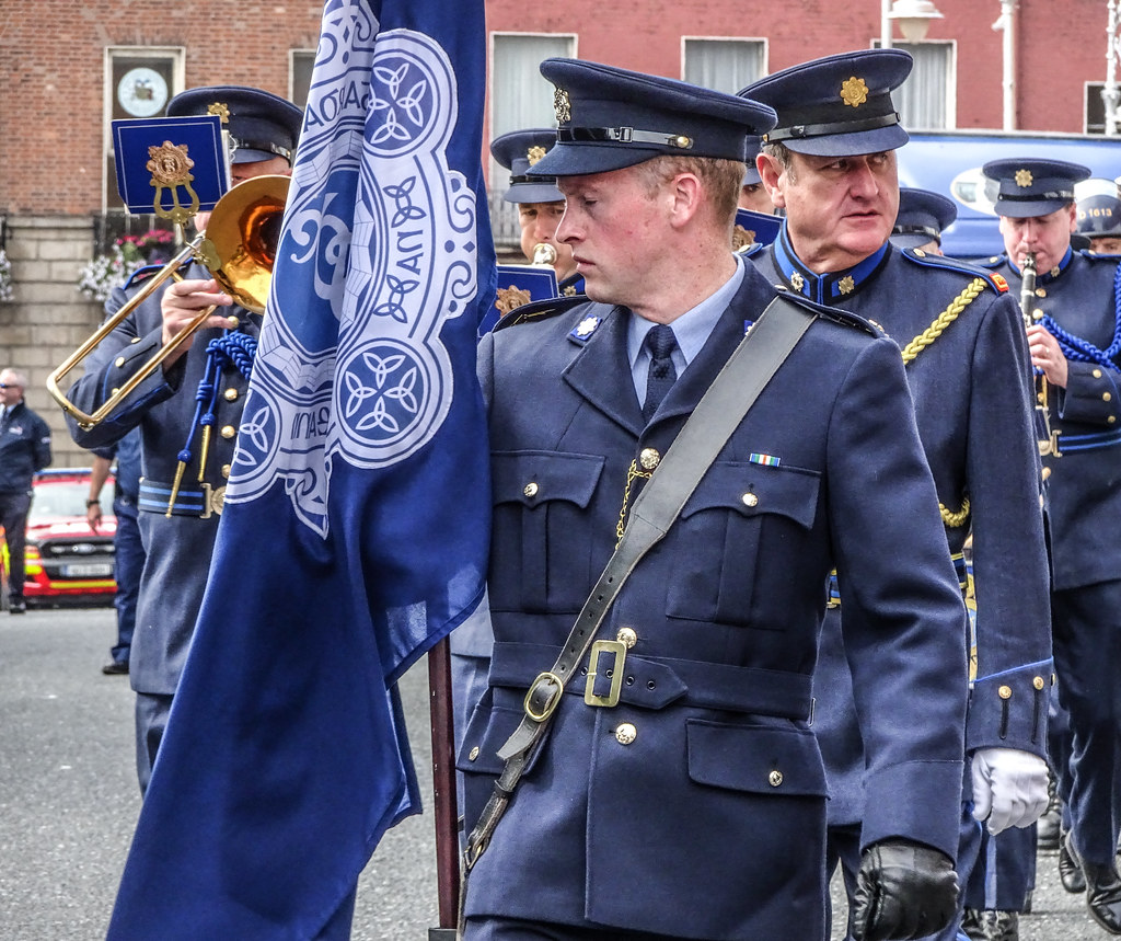 NATIONAL SERVICES DAY [PARADE STARTED OFF FROM NORTH PARNELL SQUARE]-143546