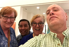Day 2397: Day 207: Good friends (knoopie) Tags: 2018 july iphone picturemail tammi david detta theater 12thavenuearts friends doug knoop knoopie me selfportrait 365days 365daysyear7 year7 365more day2397 day207
