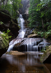 Empress Falls - Blue Mountains, NSW, Australia (StefanKleynhans) Tags: waterfall longexposure nikond800e nikon1635f4 nsw mountains bluemountains australia nature hike hiking rain water green plants