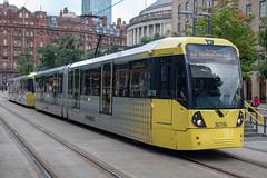 Manchester Metrolink 3019 (Mike McNiven) Tags: manchester metrolink tram lrv metro lightrail altrincham stpeterssquare bury interchange