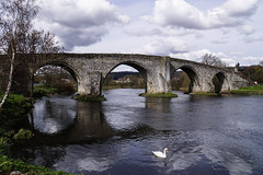 Auld Stirling Bridge (p.mathias) Tags: bridge river stirling scotland sony water scotlan unitedkingdom uk europe sky viaduct arch tree building