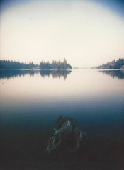 Stanislaus National Forest (kevin dooley) Tags: stanislaus national forest utica reservoir film instax lomoinstant automat glass
