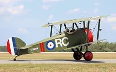 Sopwith F.1 Camel replica (rbeechy) Tags: sopwith camel replica biplane worldwari titusville n62103 propeller