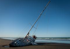 20180918_2187_1D3-22 Stranded #3 (johnstewartnz) Tags: canon canonapsh apsh eos 1dmarkiii 1d3 1dmark3 1d 1dmkiii 1dmk3 1diii 1740mm 1740 ef1740mmf4lusm yacht beachedyacht merlot newbrighton newzealand newbrightonbeach seenonthebeach