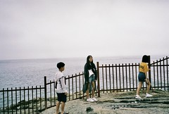 fullsizeoutput_4d9d (romy_clair) Tags: youth water colour landscape kids rocks nature busan south korea toasts tourists east asia travel analogue pentax film