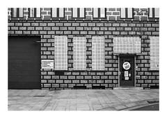 161105_00011_OM2n_city fragment 7/19 (A Is To B As B Is To C) Tags: aistobasbistoc b belgië belgium antwerpen antwerp kievitplein langekievitstraat olympus om2n analog film kodak tmax bw blackwhite blackandwhite monochrome facade wall architecture drawing demolished demolition city urban urbanism urbanrenewal street sidewalk richardwoods art artwork lines pattern brick brickwork