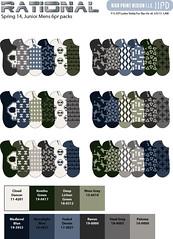 Sp14 mens rational v1 (boodiba) Tags: sockdesign hosierydesign surfacedesign target adobeillustrator photoshop graphicdesign