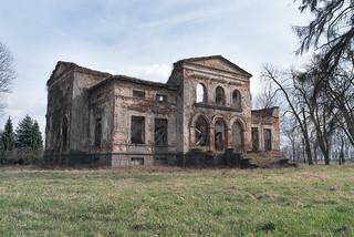 Ruiny blisko Uniejowa