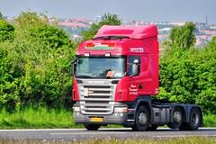 AF96982 (12.05.21)_Balancer (Lav Ulv) Tags: 83627 scania rseries pgrseries scaniarseries r480 highline euro4 e4 r5 6x24 2007 afmeldt2014 retiredin2014 abgemeldet2014 red bagerstransport bagertransport hvidsten frodelaursen truck truckphoto truckspotter traffic trafik verkehr cabover street road strasse vej commercialvehicles erhvervskøretøjer danmark denmark dänemark danishhauliers danskefirmaer danskevognmænd vehicle køretøj aarhus lkw lastbil lastvogn camion vehicule coe danemark danimarca lorry autocarra danoise vrachtwagen motorway autobahn motorvej vibyj highway hiway autostrada trækker hauler zugmaschine tractorunit tractor