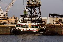 r_180816146_beat0069_a (Mitch Waxman) Tags: brooklynnavyyard eastrivershoreline newyorkcity newyorkharbor tugboat williamsburg newyork