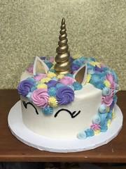 IMG_2215 (backhomebakerytx) Tags: back home bakery backhomebakery unicorn cute gold purple pink blue yellow girl pretty magic cake birthday