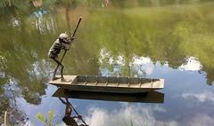 The boatman.. (Mike-Lee) Tags: sculptures thesculpturepark surrey april2017 aug2018 mike jill boatman stagnight