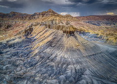 DJI_0079_80_81_82_83hdrpanorama (Greg Meyer MD(H)) Tags: utah southwest drone dji panorama landscape storm weather mountain formation erosion epic golden view beauty