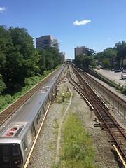 Red below (afagen) Tags: silverspring maryland metrorail metro wmata redline train subway transit 7000series