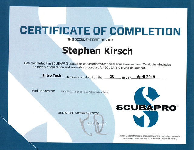 Scubapro Reg Service08282018_0009