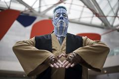 Blue Jedi Guy - DC Cosplay Photoshoots (dckellyphoto) Tags: cosplay cosplayer man guy male costume nationalgalleryofart washingtondc districtofcolumbia 2018 canon6d portrait blue dccosplay mikebecvar jedi makeup blueazul