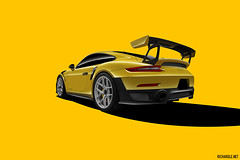 Porsche GT2 RS Racing Yellow (Richard.Le) Tags: richard le automotive commercial photography sony a7rii profoto b1x outdoor single exposure studio porsche gt2 rs racing yellow sports car race hre forged wheels flickr transportation transport hashtag tag exotic popular explore monterey week exotics cannery row show event weissach package