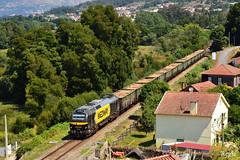 Caminha (REGFA251013) Tags: tren train comboio mercadorias sara medway renfe infrastructuras de portugal caminha seixas euro4000 rio miño minho
