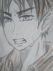 Eren Yeager AOT (jasakhan10) Tags: eren yeager aot attackontitan characters crying anime drawing pencil