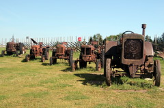 Old Tractors (Alan1954) Tags: saaremaa estonia tractors five holiday 2017 museum