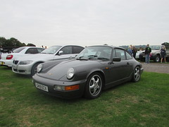 Porsche 911 Carrera 4 G419ECV (Andrew 2.8i) Tags: haynes motor museum breakfast meet sparkford yeovil somerset show classic classics cars car autos german sports sportscar aircooled 4wd coupe 4 carrera 964 911 porsche carrera4