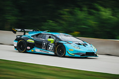 Lamborghini Huracan Super Trofeo EVO (Garret Voight) Tags: 2018 lamborghini huracan super trofeo evo dreamracingmotorsport justinprice racing motorsports autoracing car racecar sports weathertechsportscarchampionship uscc imsa automobile motorracing automotive roadamerica elkhartlake wisconsin vehicle track circuit corner speed motion blur panning