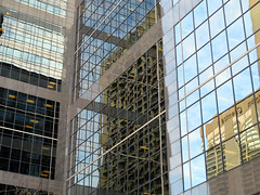Toronto, Ontario (duaneschermerhorn) Tags: toronto ontario canada city urban downtown architecture building skyscraper structure highrise architect modern contemporary modernarchitecture contemporaryarchitecture reflection reflective reflectivebuilding glass windows glassclad mirror distortion