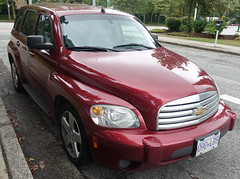 Chevrolet HHR station wagon (D70) Tags: highroofed fivedoor fivepassenger chevrolet hhr retrostyled frontwheel drive station wagon sony dscrx100m5 ƒ35 88mm 180 125
