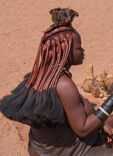 Namibie femme Imba