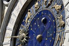Venice: Clock Tower (davide.alberani) Tags: venezia venice torredellorologio clocktower clock tower zodiac segni zodiacali lancetta luna sole pianeti stelle stars planets moon signs piazza square sanmarco veneto serenissima