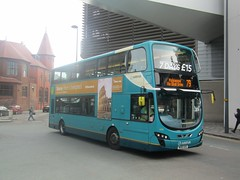 Arriva North West 4466 MX61AXG Liverpool ONE Bus Stn on 79 (1) (1280x960) (dearingbuspix) Tags: arriva arrivanorthwest mx61axg 4466
