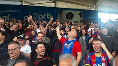 Huddersfield v Palace (2018) (Paul-M-Wright) Tags: crystal palace fc versus huddersfield town premier league football match john smiths stadium hd16pg soccer fans supporters footballground footballstadium uk england west yorkshire cpfc ptid coyp