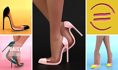 EQUAL - Daisy Stilettos @TresChic (EQUAL SL) Tags: secondlife shoes slink belleza maitreya tres chic equal