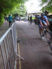 Rounding the first corner (Steelywwfc) Tags: ovo energy tour series durham spokes racing team