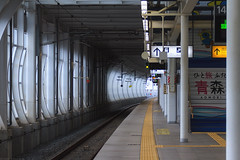 20180806_f06 : 八戸駅 (G-TAKI) Tags: japan aomori hachinohe 日本 青森 八戸 八戸駅 rail railway shinkansen 新幹線