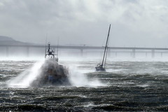 Storm Ali (eric robb niven) Tags: ericrobbniven scotland dundee lifeboat broughty ferry landscape storm ali