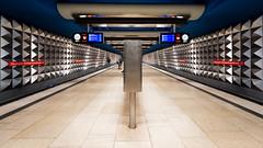 Olympia Einkaufszentrum (Sean Batten) Tags: berlin germany europe olympiaeinkaufszentrum metro subway underground nikon d800 1424 city urban ubahn