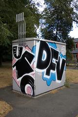 ufo dfv (wallsdontlie) Tags: graffiti cologne ufo dfv