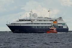 IMG_6509@L6 (Logan-26) Tags: clio passenger ship flag malta port valletta paul gauguin cruises riga latvia aleksandrs čubikins gulf daugava river pilot dina workboat