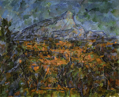 Paul Cézanne - Mont Sainte-Victoire - Seen from Les Lauves, 1906 at French Landscape Paintings from The Pushkin State Museum of Fine Arts Moscow at Tokyo Metropolitan Art Museum Tokyo Japan (mbell1975) Tags: cézanne taitōku tōkyōto japan jp paul cezanne mont saintevictoire seen from les lauves 1906 french landscape paintings the pushkin state museum fine arts moscow tokyo metropolitan art museo musée musee muzeum museu musum müze museet finearts gallery gallerie beauxarts beaux galleria painting impression impressionist impressionism