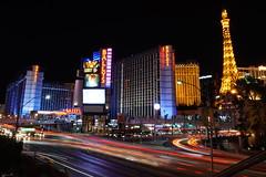 Las Vegas strip at night, Nevada