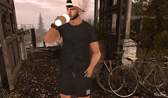 Inspiration, and a little coffee! And that's enough for me! (MauMau_Yakusa) Tags: exclusive hipster mens events mister razzor barbe shop beard cordeaux coffe poses