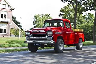 Chevrolet Apache 31 Pick-Up Truck 1959 (8834)